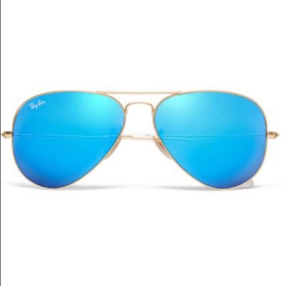 278ddf8a485 Ray Ban Blue Mirror Aviators. M 5b578ec3fb38035c9ee9c848
